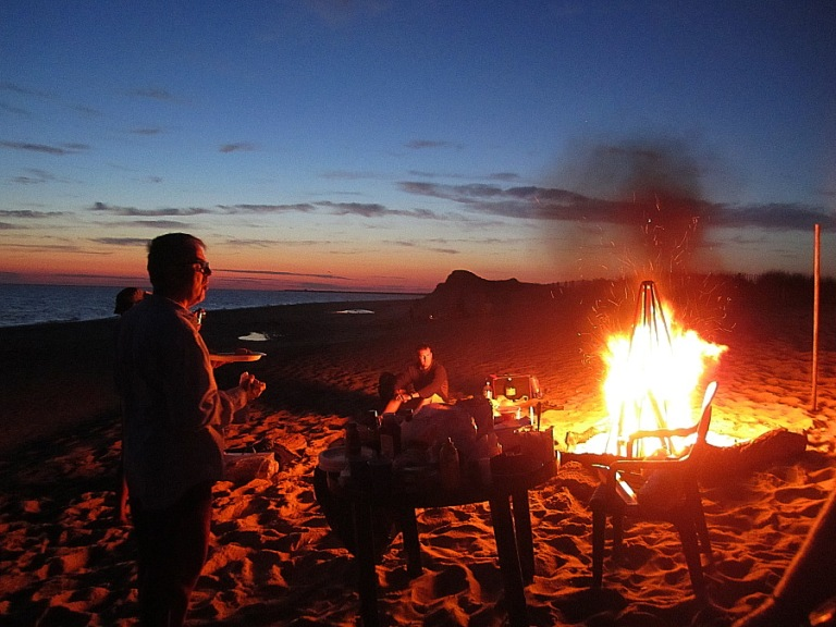 Bonfire in Provincetown, MA