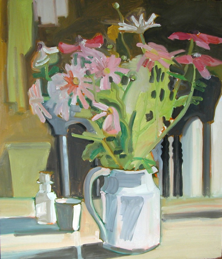 Still Life by Lois Dodd, Courtesy Alexandre Gallery, New York